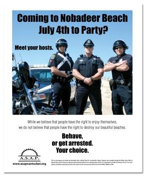 Public Awareness Poster, Nantucket