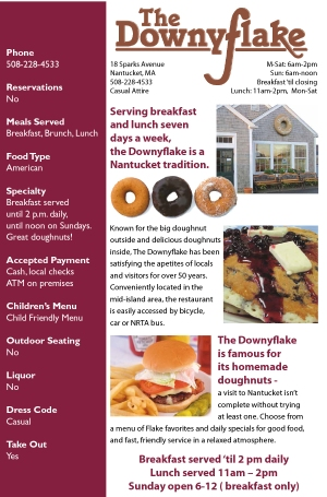 Restaurant Guide, I&M