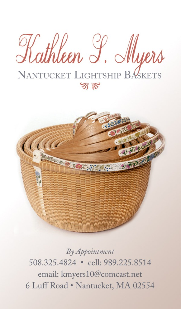 Nantucket Lightship Basket, Business Card