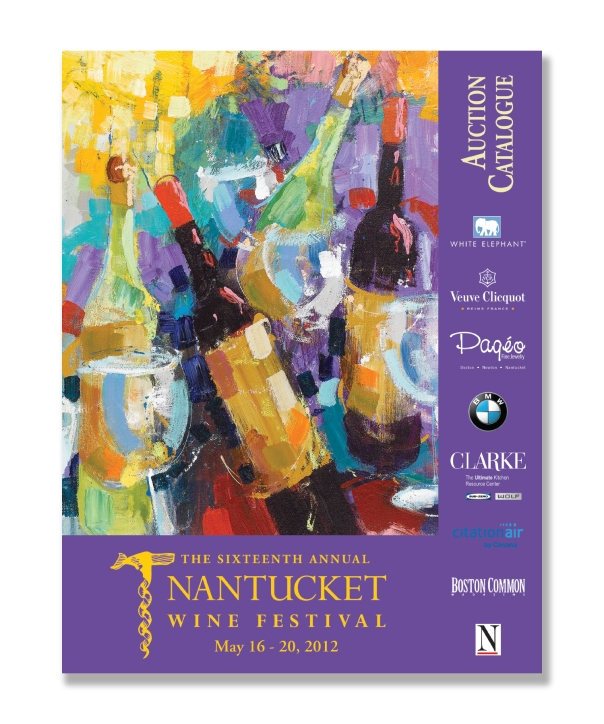 Nantucket Wine Festival Auction Book 2012