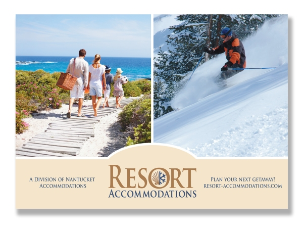 Resort Accommodations Post Card 2011